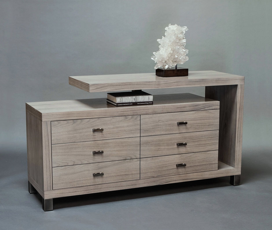Cantilever 6 Drawer Dresser