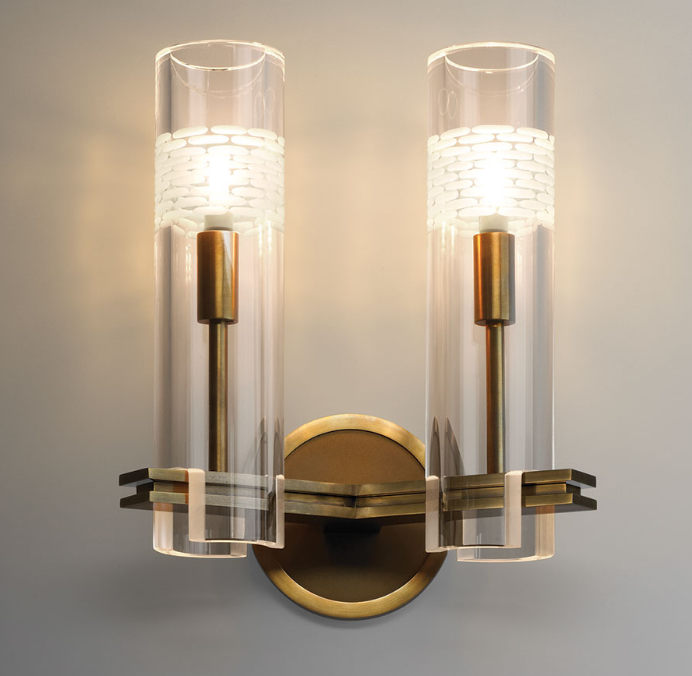 JB Chamont Double Sconce