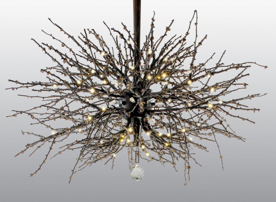 jonathan browning lighting. JB Ventoux Torchiere Twig Chandelier Jonathan Browning Lighting