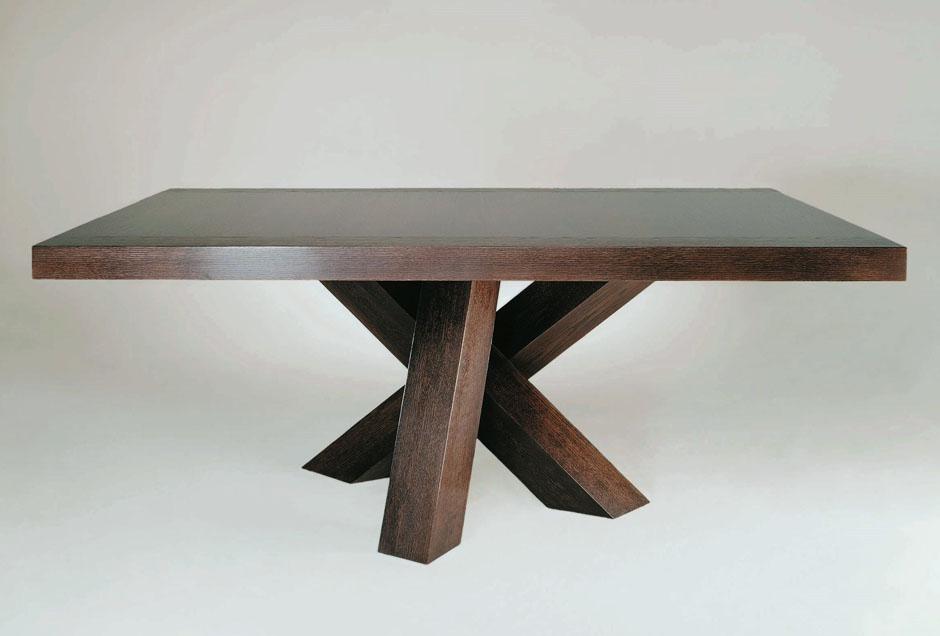 K-3 Wood Top Dining Table